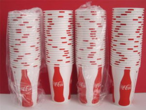 Coca-Cola Trademark Cups – 12 oz.
