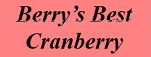 Berry's Best Cranberry – 1.5 gallon