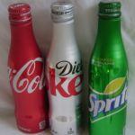Coke, Diet Coke, and Sprite – Aluminum Bottles