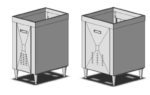 Cabinet Stand for Drop-in Fountain Dispensers