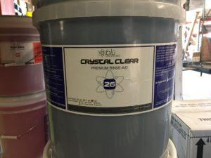 Crystal Clear Rinse Aid – 5 Gallon